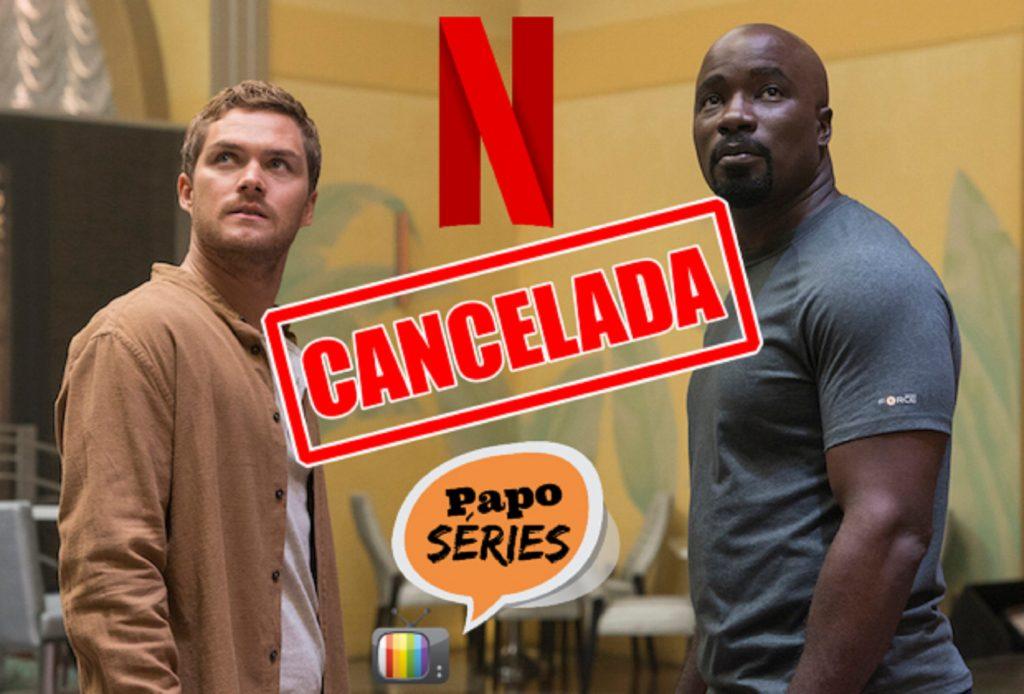 Tem Na Web - Netflix Cancelando As Séries da Marvel?